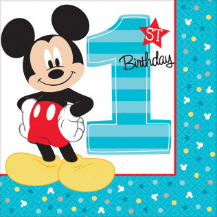 1st Birthday Mickey