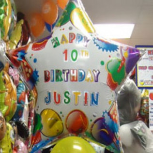 Custom Birthday Balloons