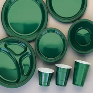 Forest Green Tableware