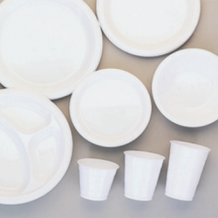 Frosty White Tableware