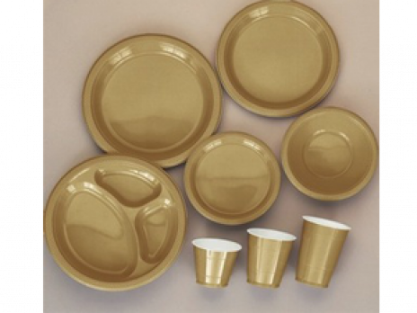 Gold Tableware  sc 1 st  Party Fair & Solid Color Tableware | Party Fair