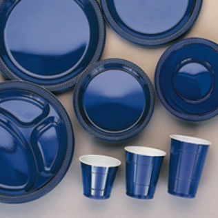 Navy Flag Blue Tableware