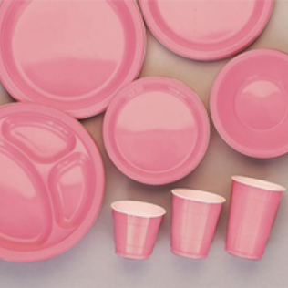 Pretty Pink Tableware