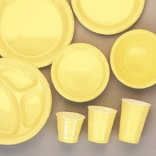 Yellow Sunshine Tableware